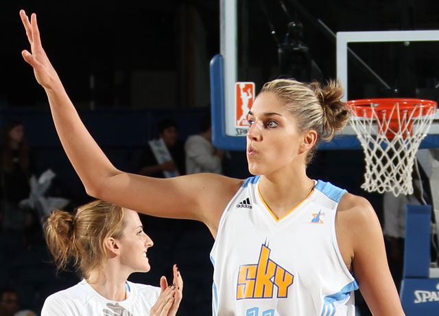 Elena Delle Donne leads the Sky to OT win vs Lynx