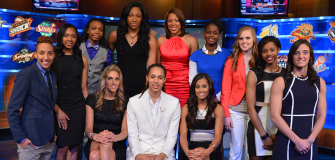 West's best of WNBA at midseason