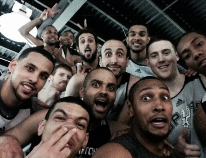 The Spurs beat the Heat, literally in game one of the NBA Finals