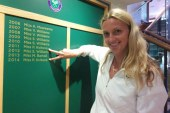 Petra Kvitova wins 2nd women's final at Wimbledon over Eugenie Bouchard