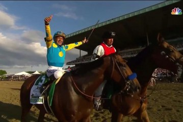 American Pharoah wins Triple Crown and joy was the icing