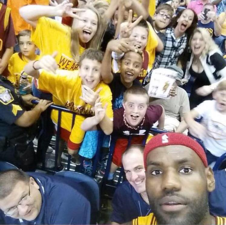 Cavs fans are ready to party for a ring