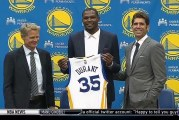 Kevin Durant celebrates his Independence