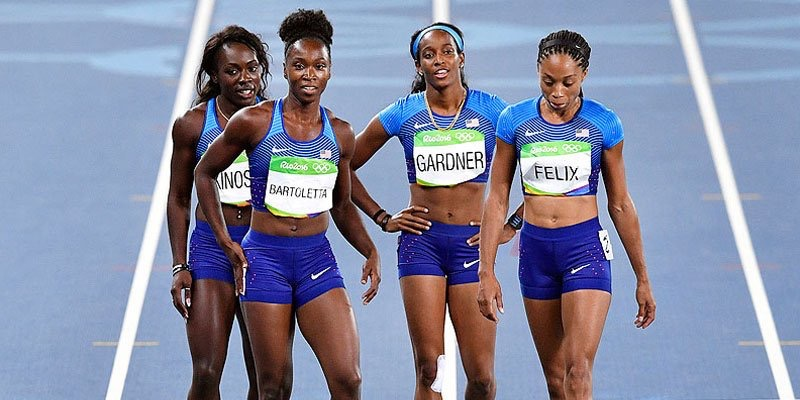US women's 4x100-meter relay team inspires me to finish the race