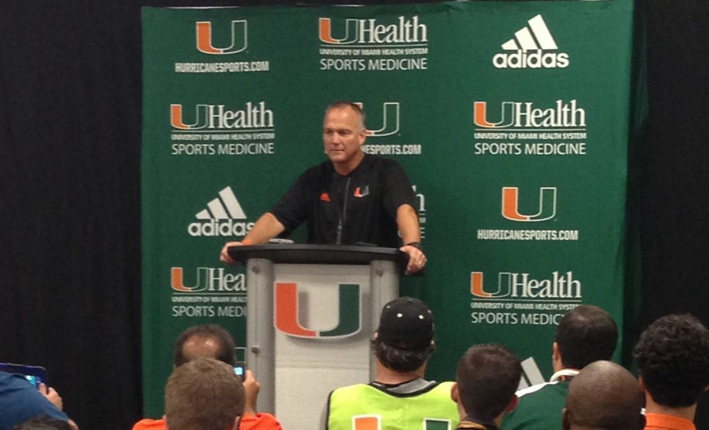 Miami Hurricanes fall out of rankings after 2nd straight loss