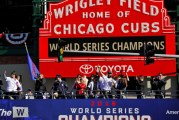 Chicago Cubs will be flying this W for a lifetime
