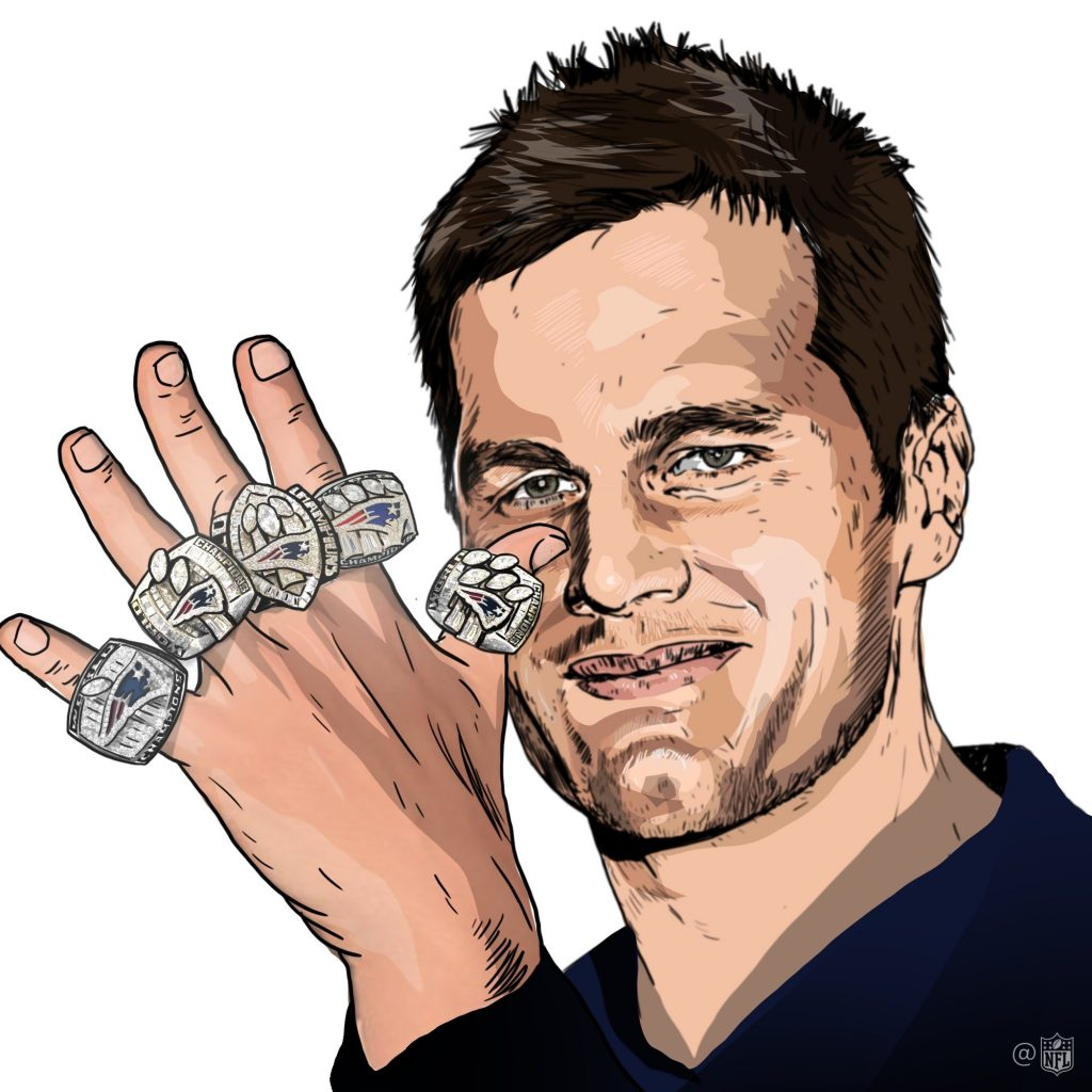 Tom Brady is the best quarterback of all time, but there will only be one G.O.A.T.