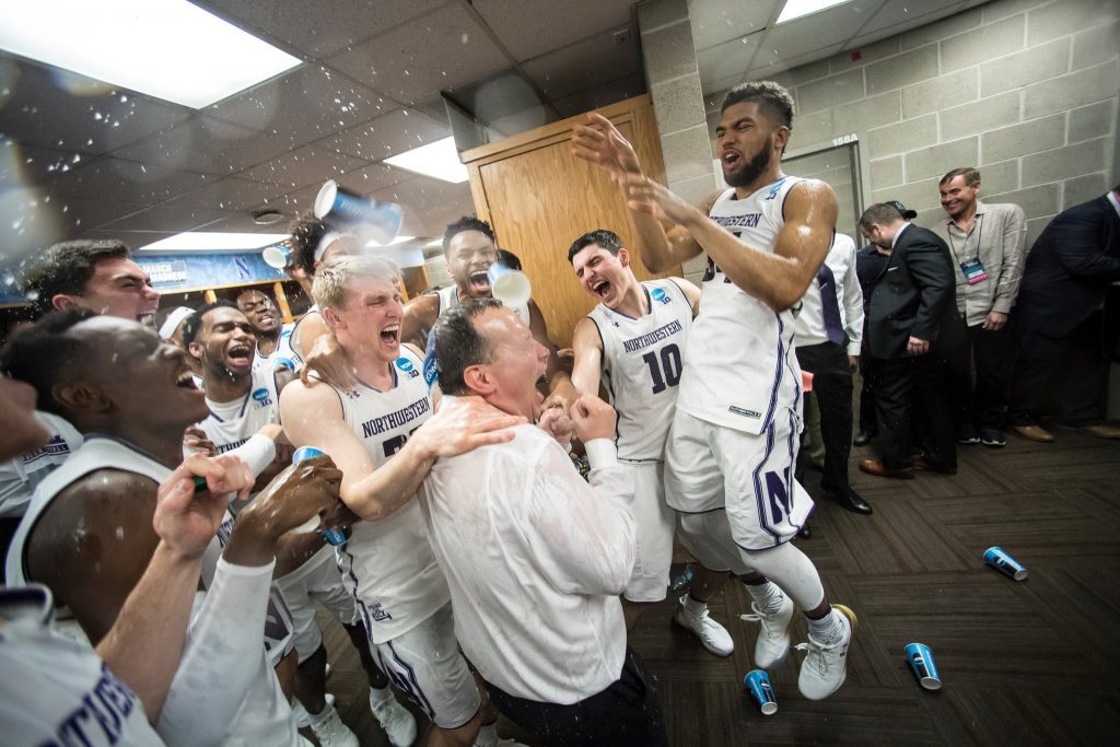 Is this a dream? The Northwestern Wildcats made the NCAA Basketball Tournament