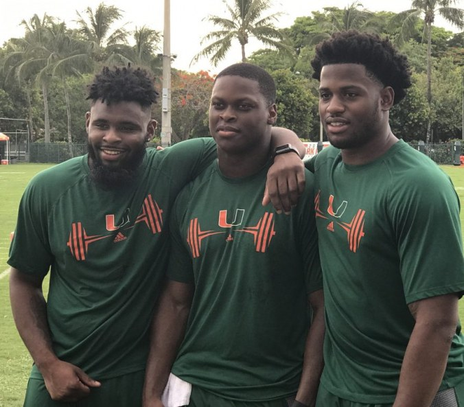 The Perfect Storm, Seniors Shaq Quarterman and Michael Pinckney are joined by sophomore Brevin Jordan on Preseason All-ACC Team