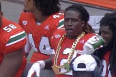 The Perfect Storm, Miami Hurricanes start season opener with some bling