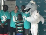The Dolphins make me cry, Miami continues to make an impact in community for the Thanksgiving holiday