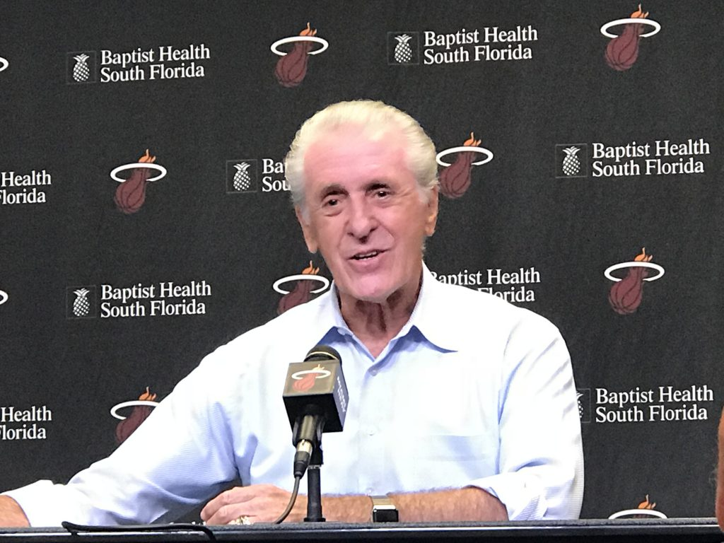 In the Heat of the moment, Pat Riley still has juice and work to do for Miami