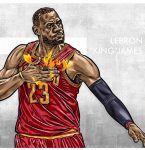 The Silencer, LeBron James' celebration, physically or without words this season
