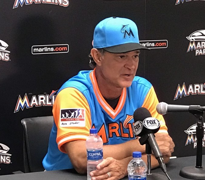 Gone fishing, Miami Marlins and the Atlanta Braves on Players' Weekend