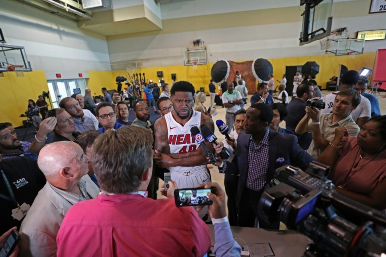 Udonis Haslem is back and not going to China, Miami Heat can't increase playing time
