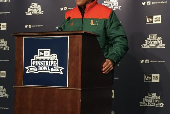 The Perfect Storm, Miami Hurricanes dismantled in rematch against the Wisconsin Badgers, Miami AD Blake James shared his thoughts
