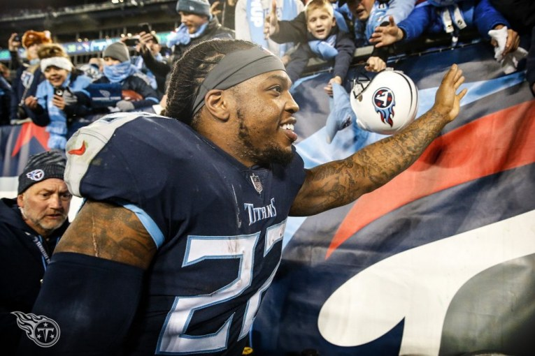 Jacksonville Jaguars stiff-armed by the Tennessee Titans