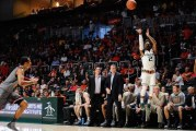 The Perfect Storm, Miami Hurricanes men's basketball stymie nations leading scorer with wi​n over Campbell