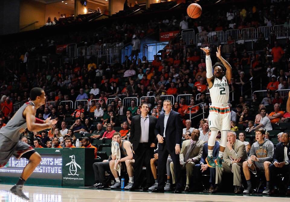The Perfect Storm, Miami Hurricanes men's basketball stymie nations leading scorer with win over Campbell