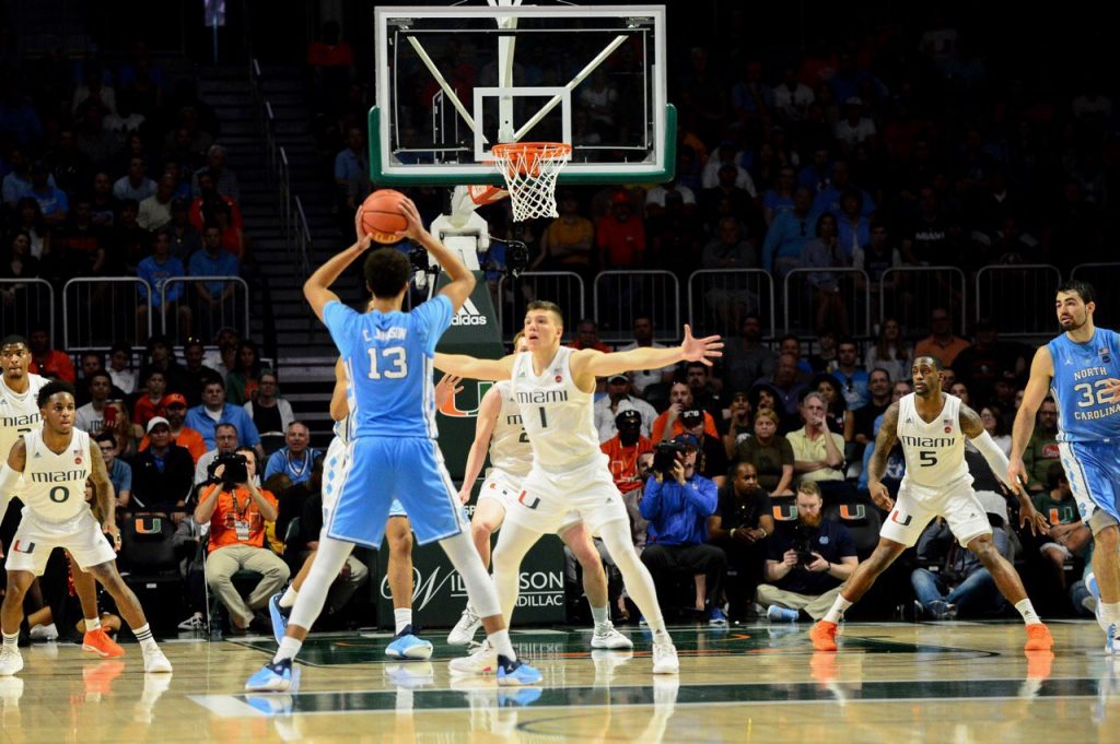 The Perfect Storm, Hurricanes basketball could not slow down the Tar Heels in the second half