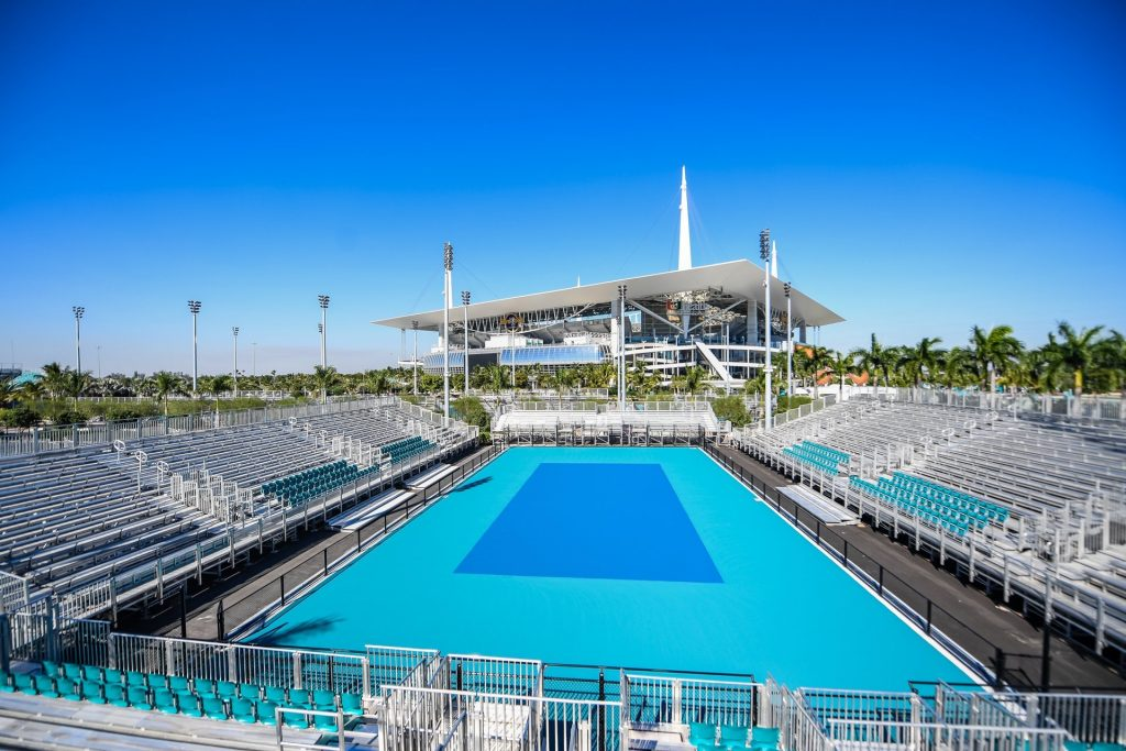 Miami Open 2019 will be where the Miami Dolphins play and Beyonce and Jay-Z perfomed 