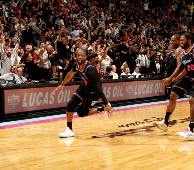 "In the Heat of the moment, Miami needed a win, so D-Wade channelled his inner ""Mamba Mentality"""