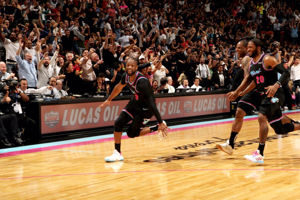 In the Heat of the moment, Miami needed a win, so D-Wade channelled his inner