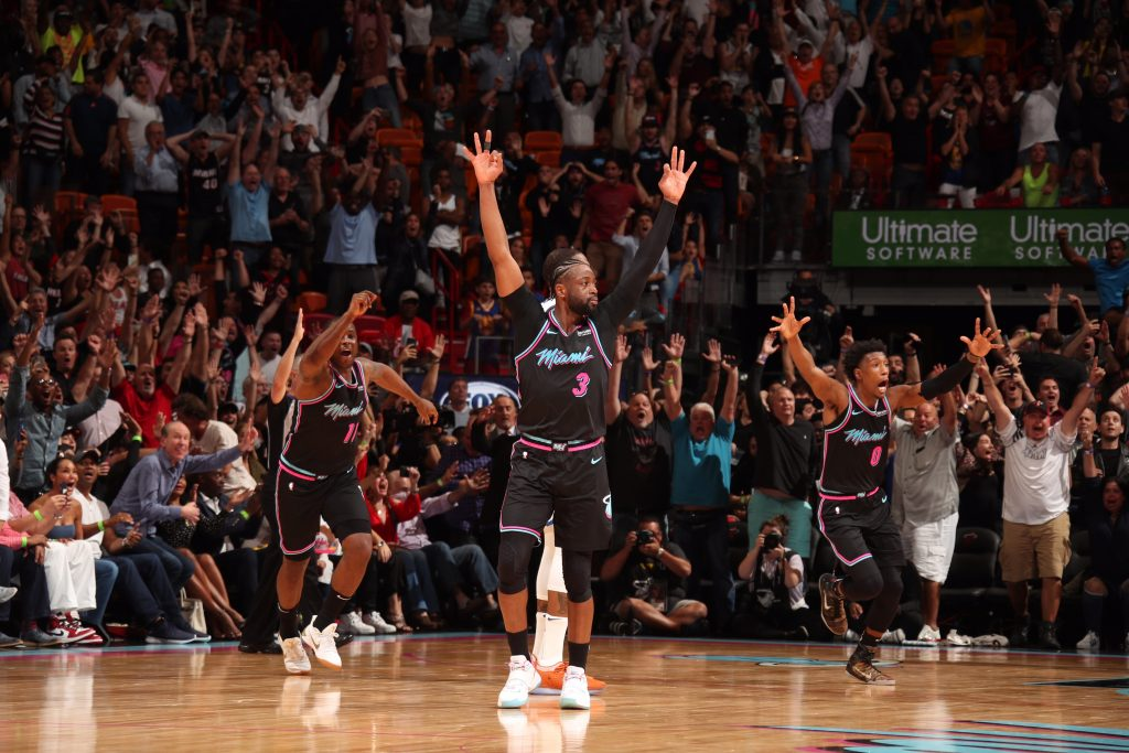 In the Heat of the moment, Miami wins fourth in a row with an interesting possesion