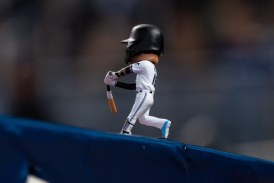 Gone Fishing, Marlins have a comeback win on Miguel Rojas' BobbleHead night