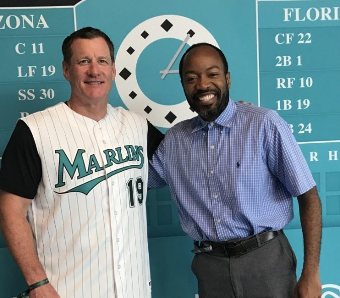 Gone Fishing, Marlins win opening game of series in the crisp whites of 1997
