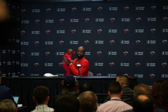 In the Heat of the moment, Wade goes out a winner in Wade County