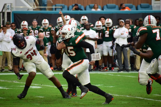 The Perfect Storm, Jarren Williams helps Hurricanes dominate Louisville Cardinals