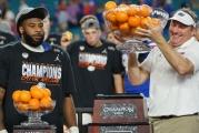 Florida Gators chomp the Virginia Cavaliers in the Orange Bowl
