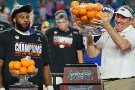 Florida Gators chomp the Virginia Cavaliers in the Orange Bowl