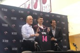 In the Heat of the moment, Miami selects a player with the last name spelled Herro