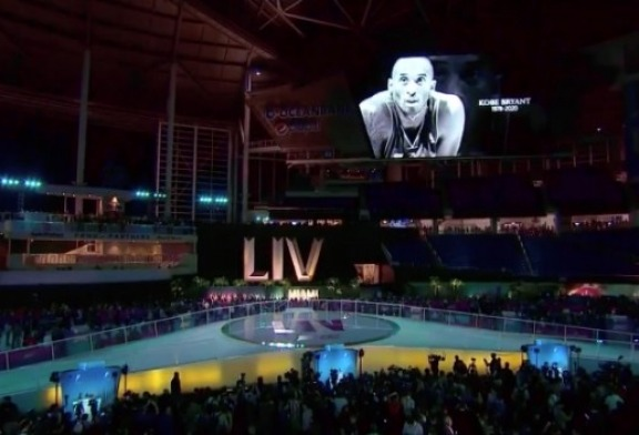 Super Bowl LIV Opening Night had a moment, but Kobe Bryant was the topic
