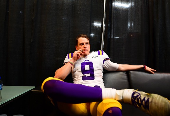 Joe Burrow sealed his college football career with a national title