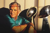 Grateful to see Don Shula coach the Miami Dolphins growing up in Miami.