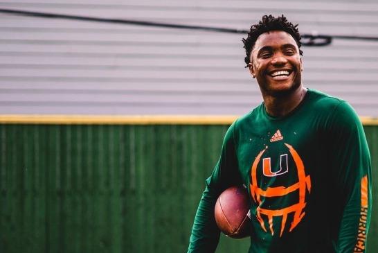 The Perfect Storm, D'Eriq King named Miami's starting quarterback